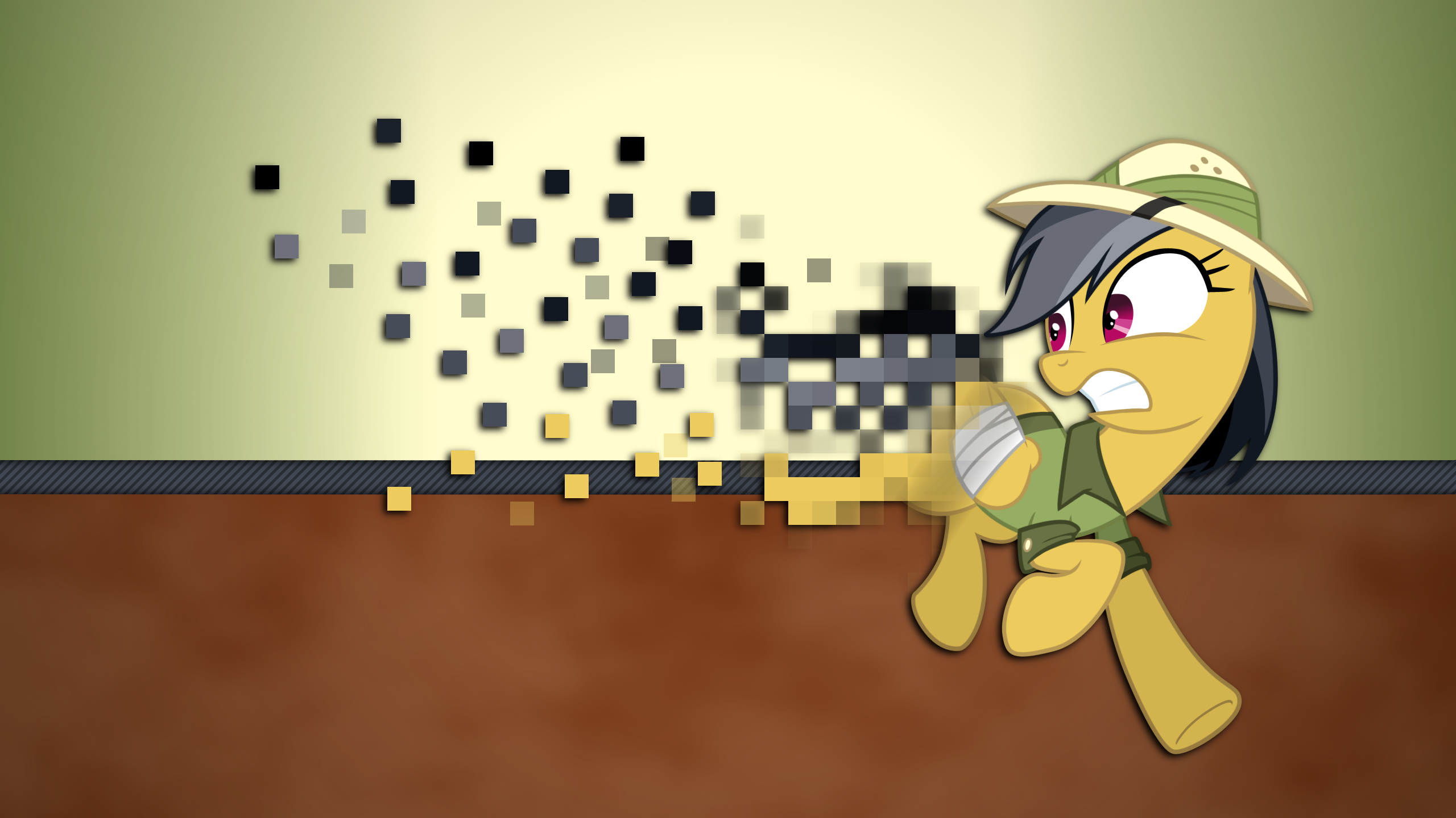 Pixelizing Daring Do by Mateo-theFox