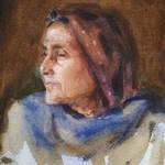 Old lady of Azimganjh