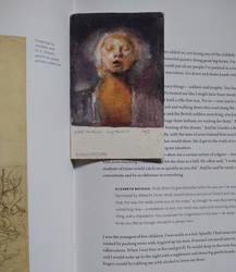 Odd Nerdrum selfie in Watercolor -Bookmark