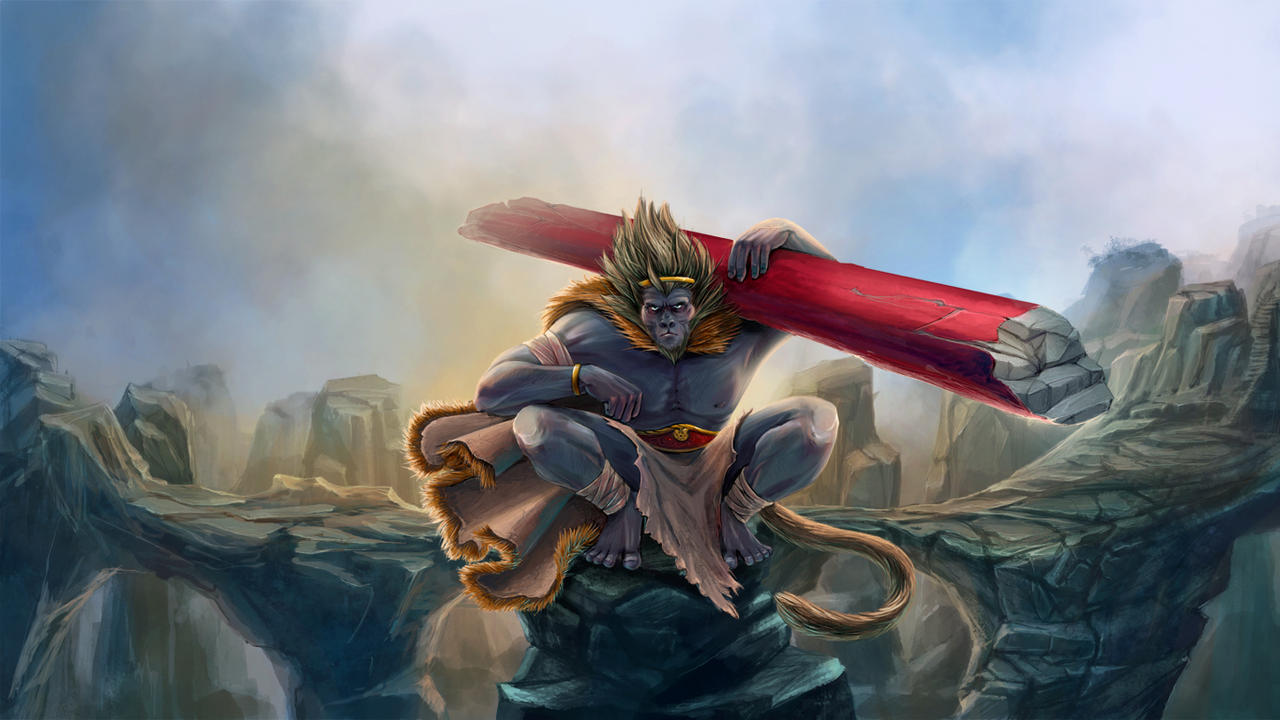 Monkey King by Abarai-kun