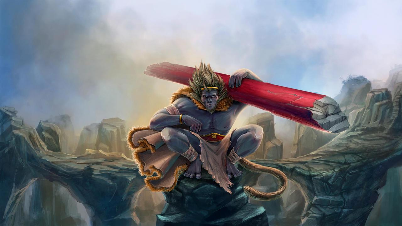 Monkey King by Abarai-kun