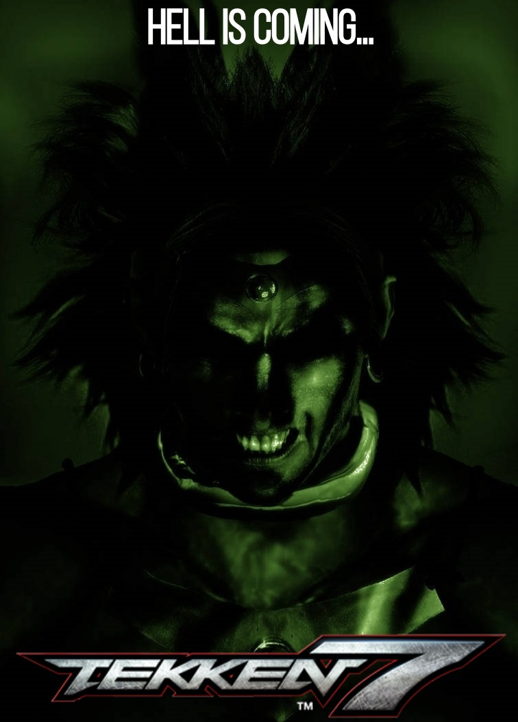 Broly In Tekken 7 Fan Made Season 3 Teaser By Ultimategamer45 On