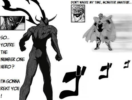 (Fanmade Mockup) Awakened Garou VS Blast