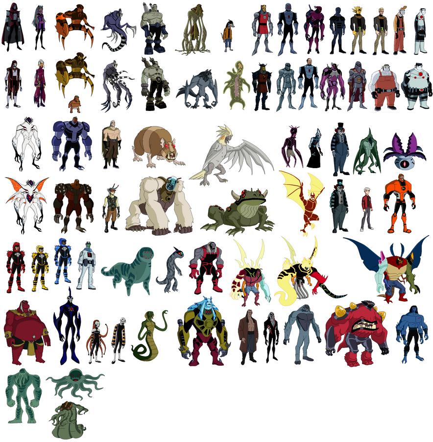 ben 10 villains