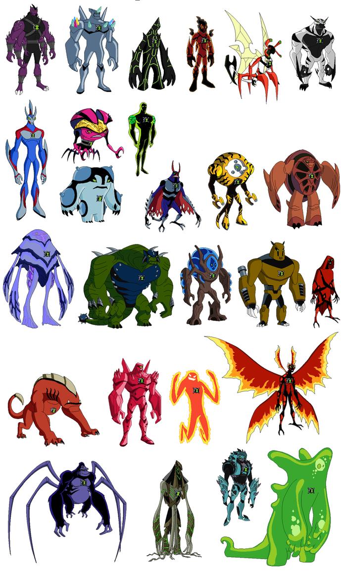 Ultimate Aliens by BrendanBass on DeviantArt