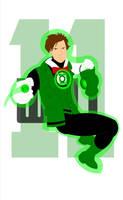 Green Lantern 11th Doctor by Bort826TFWorld
