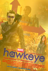Marvel One-Shot: Hawkeye Poster by Bort826TFWorld