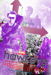 Marvel One-Shot: Hawkeye Poster (Simplified) by Bort826TFWorld