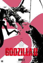 Godzilla II by Bort826TFWorld
