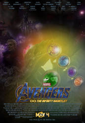 Avengers: The Infinity Gauntlet Poster by Bort826TFWorld