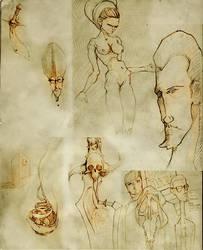 Sketches... by mellon