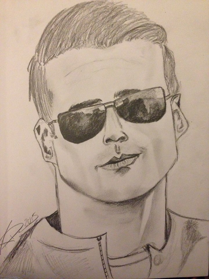 Brett Dalton Sketch by KCruise