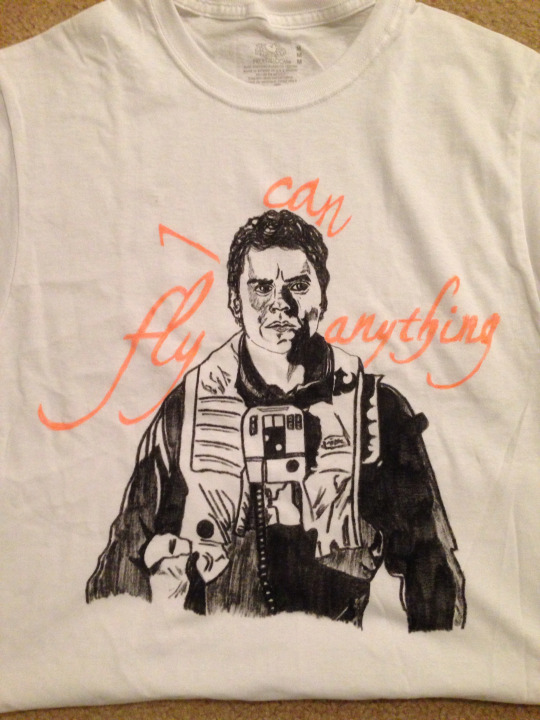 Poe Dameron Shirt by KCruise