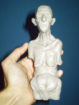Old Woman - Plastiline