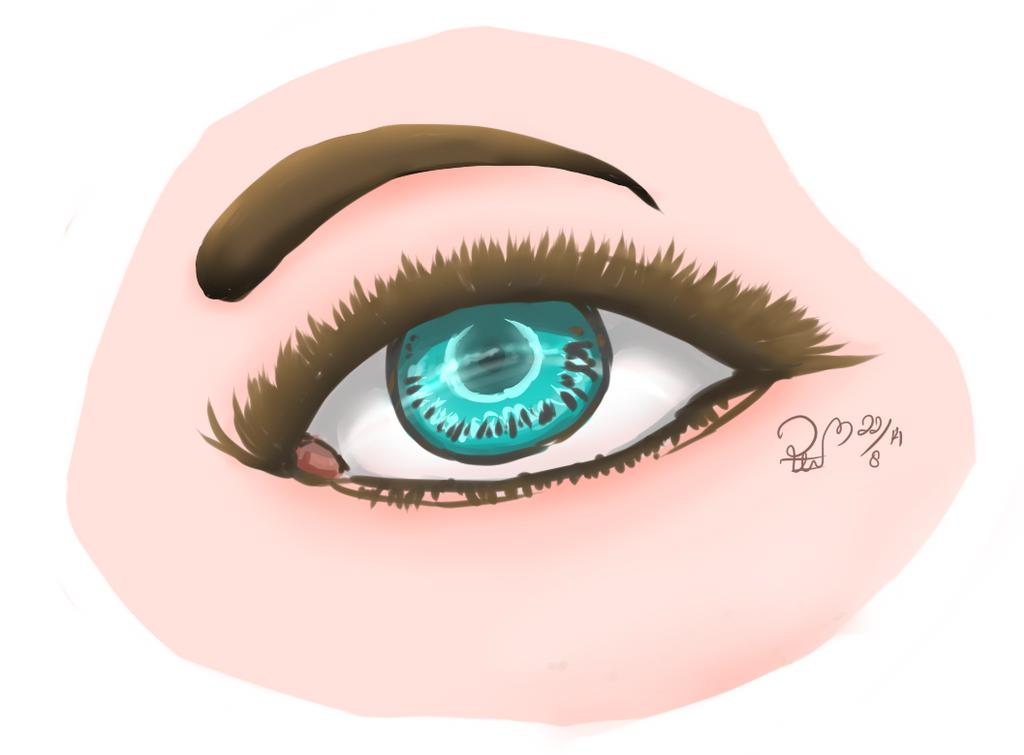 realistic eye practice by yongie88