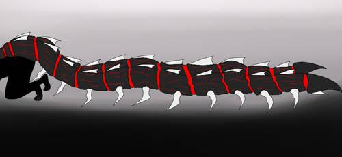 kichiro millipede by blackrock15