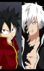 Kanato Vs Ryunosake Destiny Reattach by blackrock15