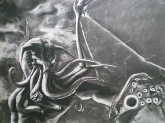 Cthulhu by SinglePolygon