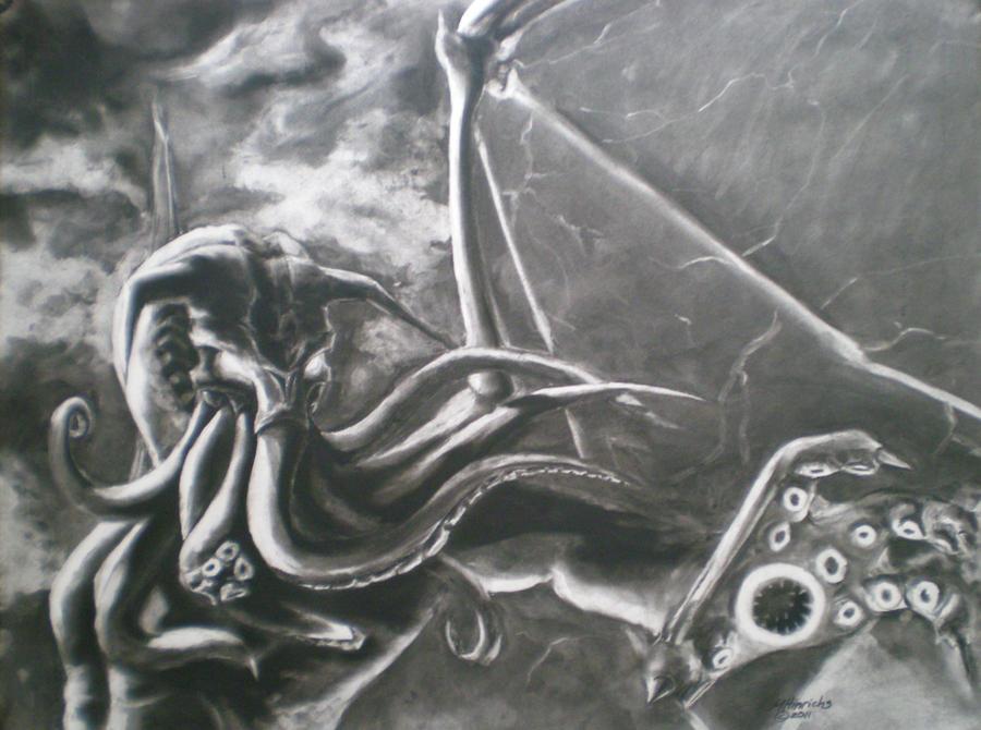 Cthulhu by MJHinrichs