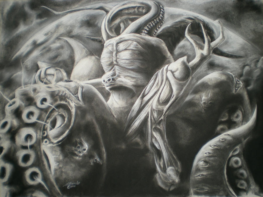 Nyarlathotep by MJHinrichs