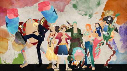 The Straw Hat Pirates - One Piece