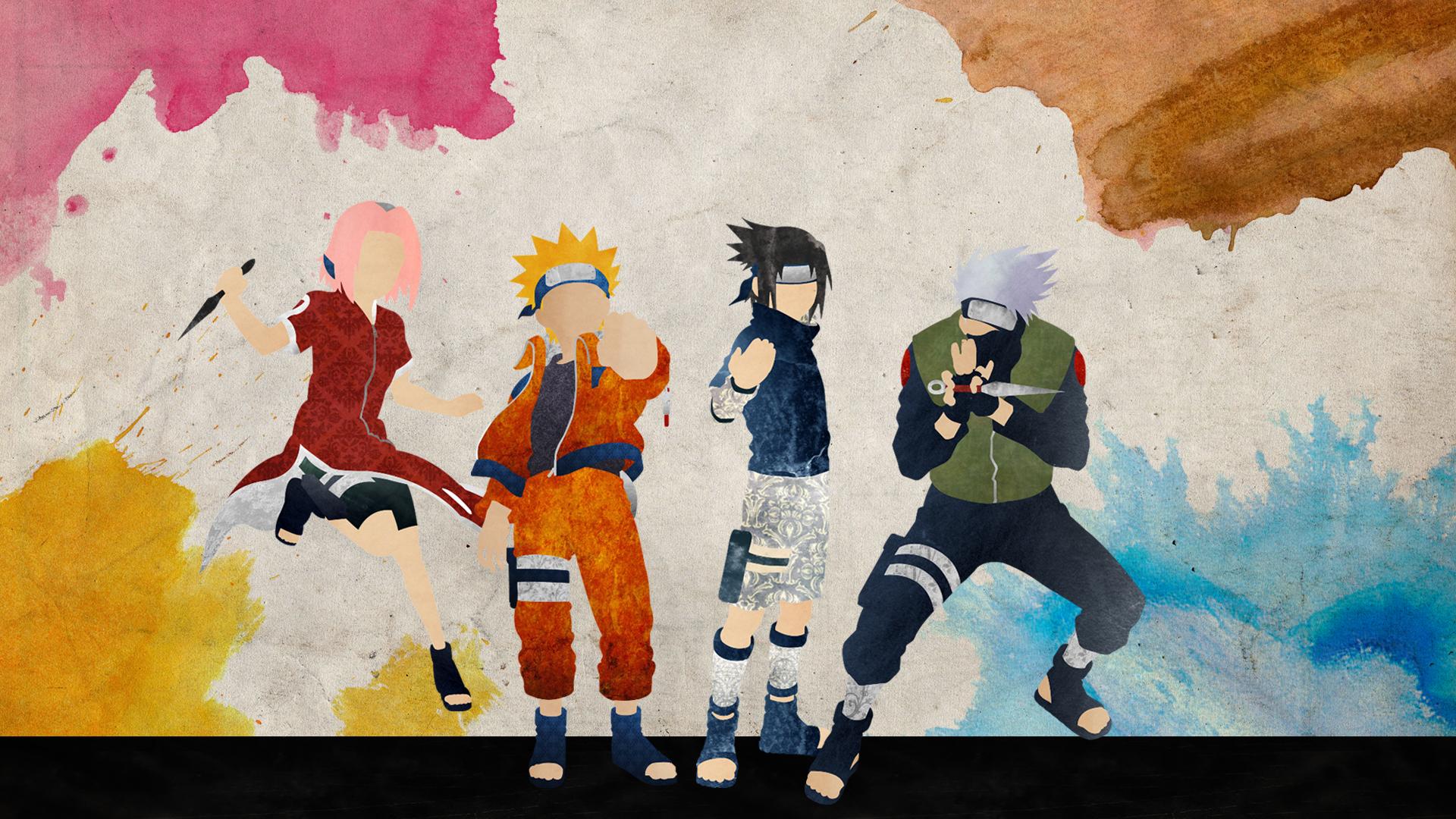 Wonderful Wallpaper Naruto Minimalistic - team_7___naruto_by_doubleu42-d7rg4uw  You Should Have_239971.jpg