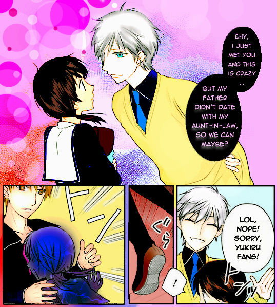Fruits Basket Another Fake Page FULL COLOUR By