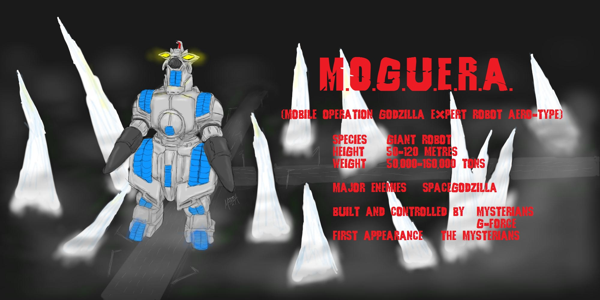 M.O.G.U.E.R.A. by PickledGenius