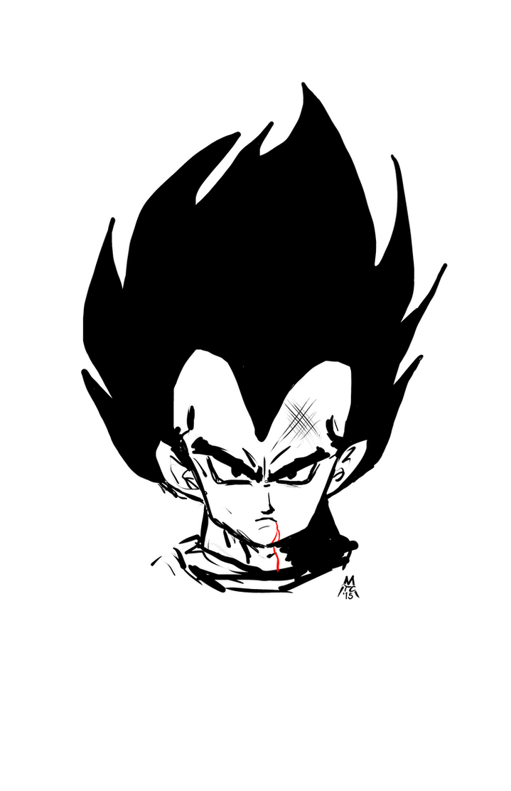 3 Minute Vegeta by PickledGenius