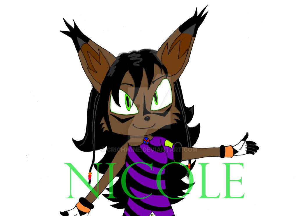 NICOLE Wallpaper FINISHED by CRichwine