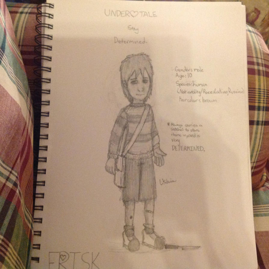 Frisk Character Design/Headcanons NEW by CRichwine