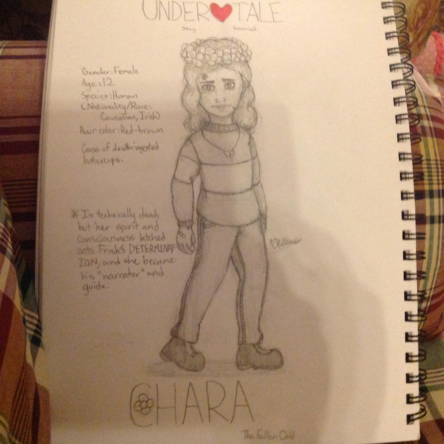 Chara Character Reference/Headcanons NEW by CRichwine