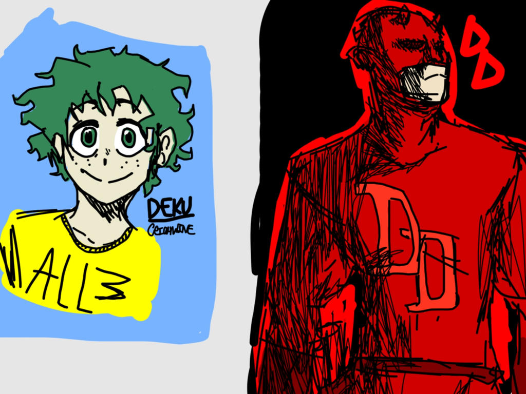 Deku And Dd by CRichwine