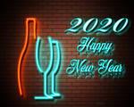 Happy New Year 2020 cheers