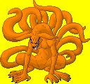 Kyuubi Pixel by GetaZ