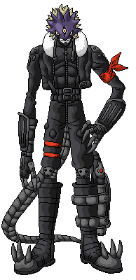 Beelzemon Pixel Art by GetaZ
