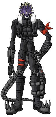 Beelzemon Pixel Art by GetaZ