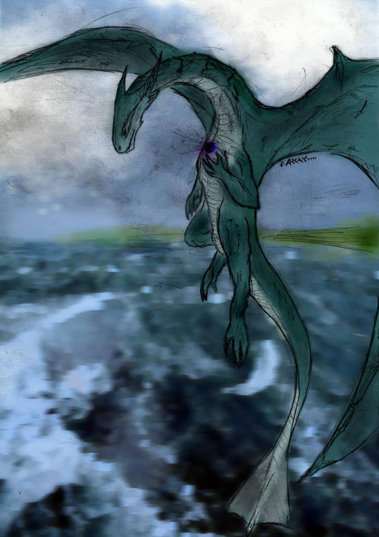 Black Pearl and Dragon