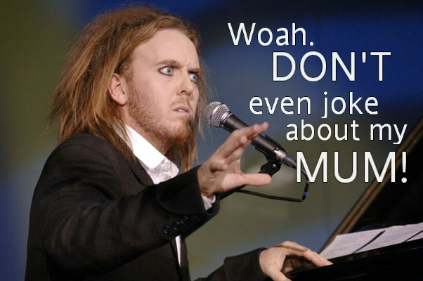 Serious Tim Minchin by AnimeLoverSam