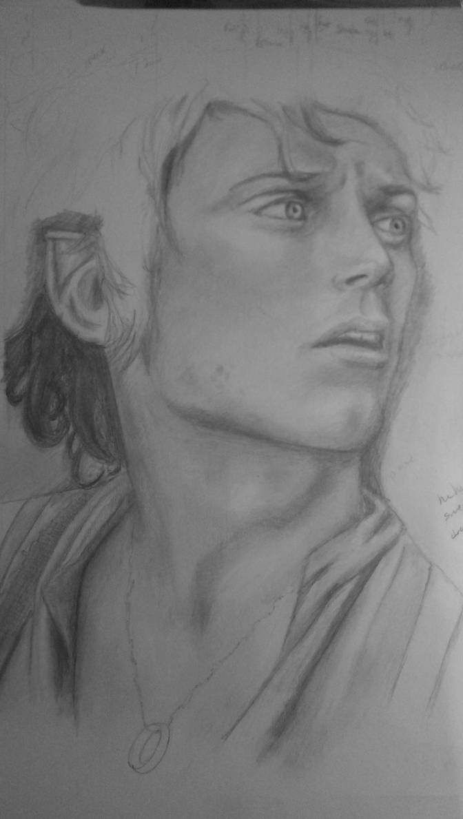 Unfinished Frodo of The Shire