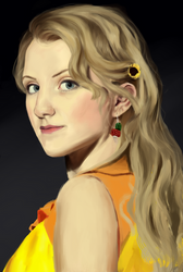 Luna Lovegood Portrait