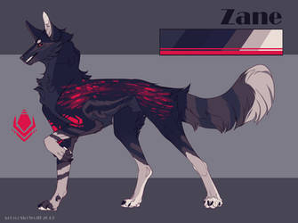 [Commission] Zane Reference by SkyWolff