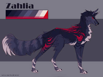 [Commission] Zahlia Reference by SkyWolff