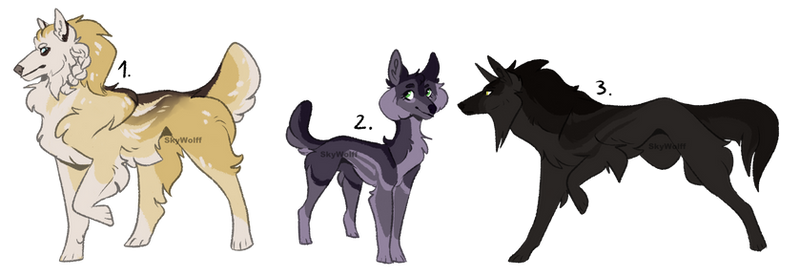 Wolf adopts 01 | REDUCED | 2/3 OPEN by SkyWolff
