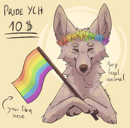 Pride month YCH | 4/10 SLOTS OPEN