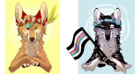 Pride month YCH | Finished batch 01