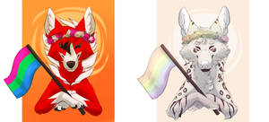 Pride month YCH | Finished batch 03