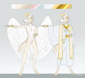 Daszek | Angel!AU sketch reference