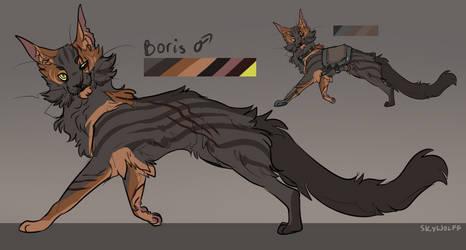 Boris | Sketch reference