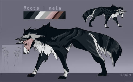 Roota | Sketch reference